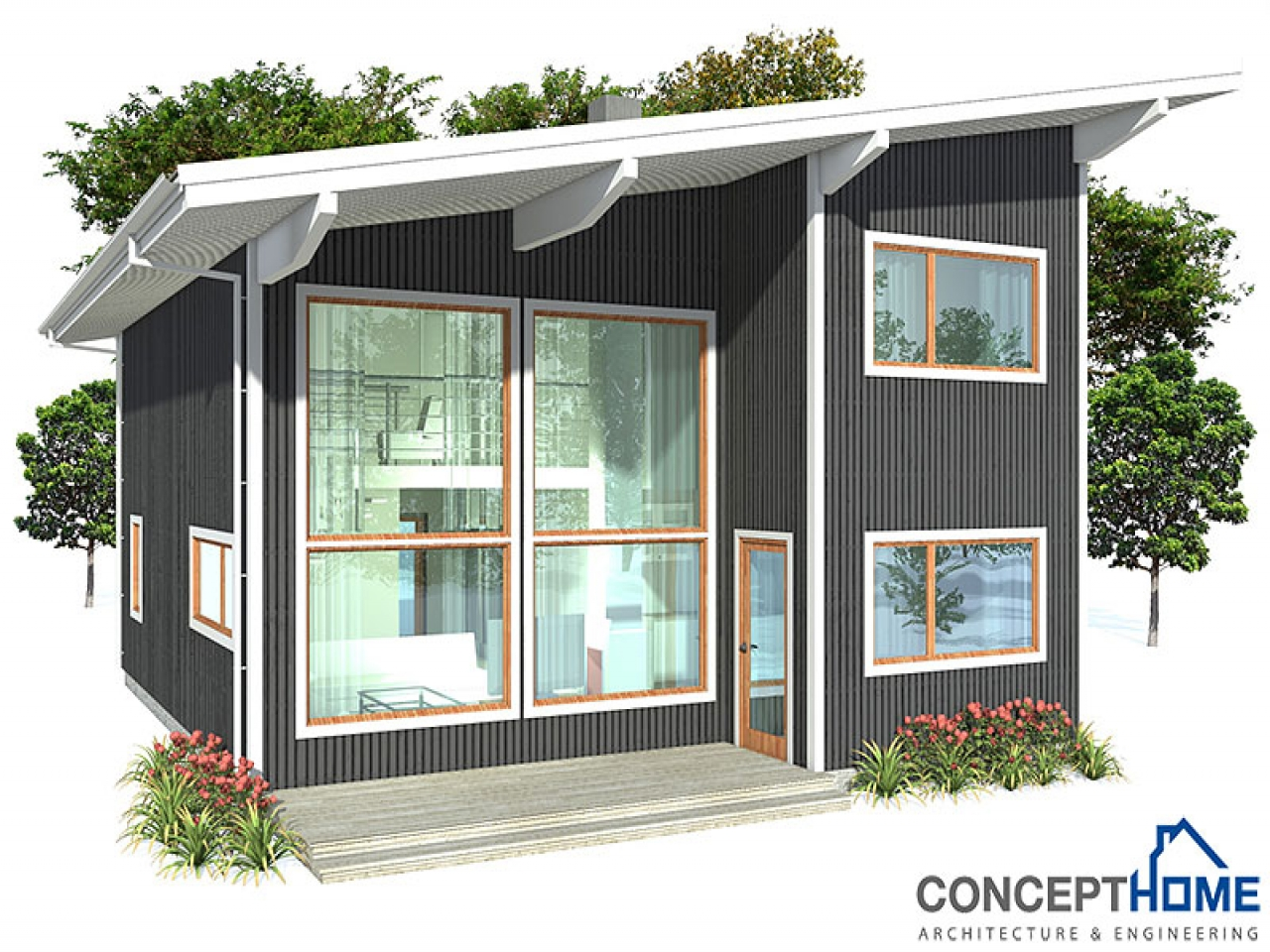 Small Affordable House Plans Simple Small House Floor