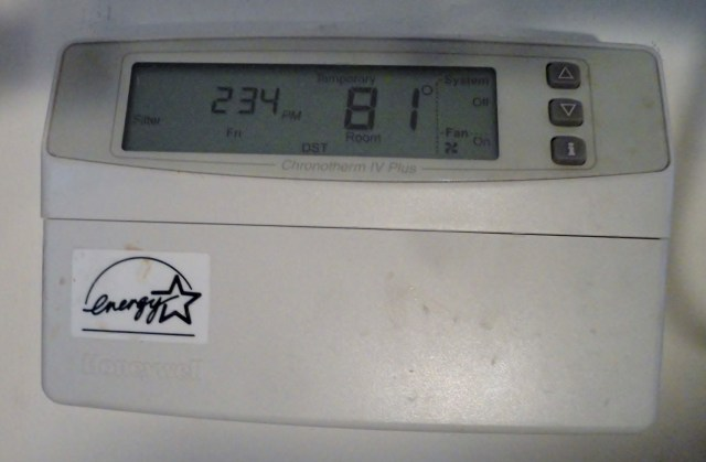 The house is totally shaded by big oak. It is livable without AC