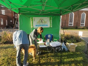 Education and registration for tree care updates was provided at our tent.