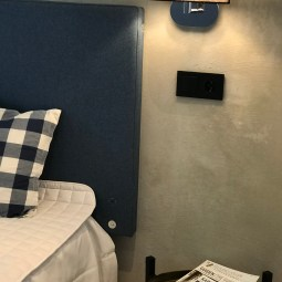 Ett annat sovrum med dubbelsäng