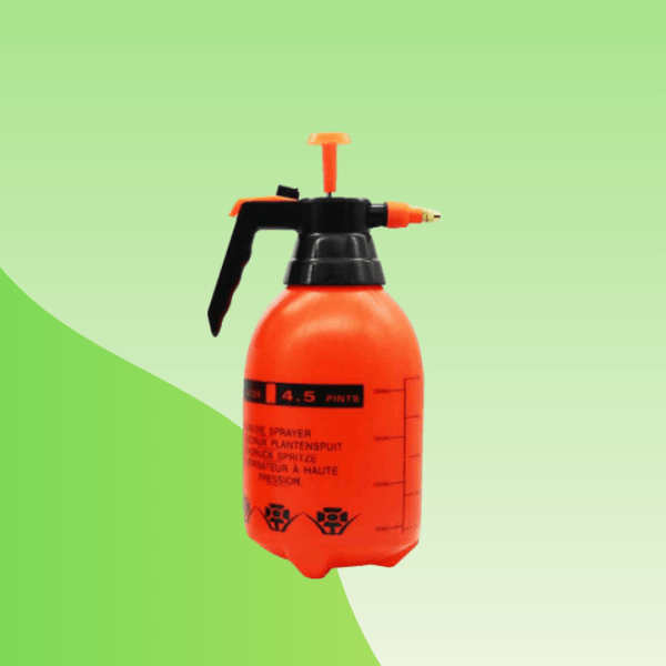Orange Pressure Water Sprayer - Treevaly.com