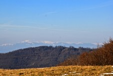 The lower Tara mountain, viewed easily from the top of the property, the watershed divide!