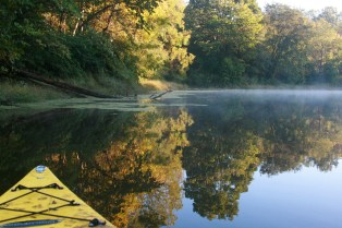 kayaking the lake, bring your boats!