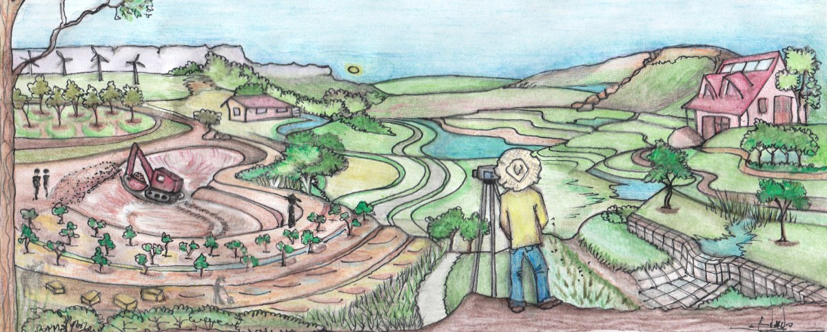 earthworks permaculture art