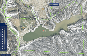 Treasure Lake GIS Map