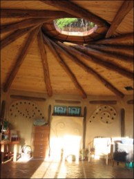 reciprocal roof roundhouse
