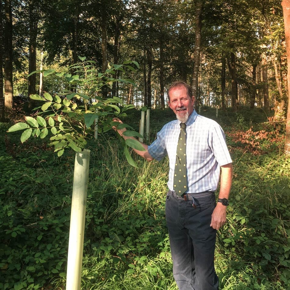 Terry Herron, Forestry and Woodland Manager