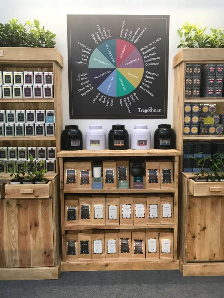 Tregothnan's Tea Stand at the RHS Chelsea Flower Show 2019