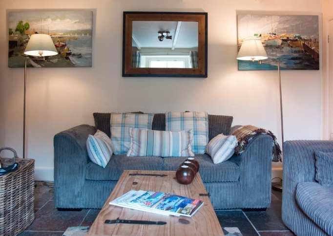 Riverside Cottage Living Space