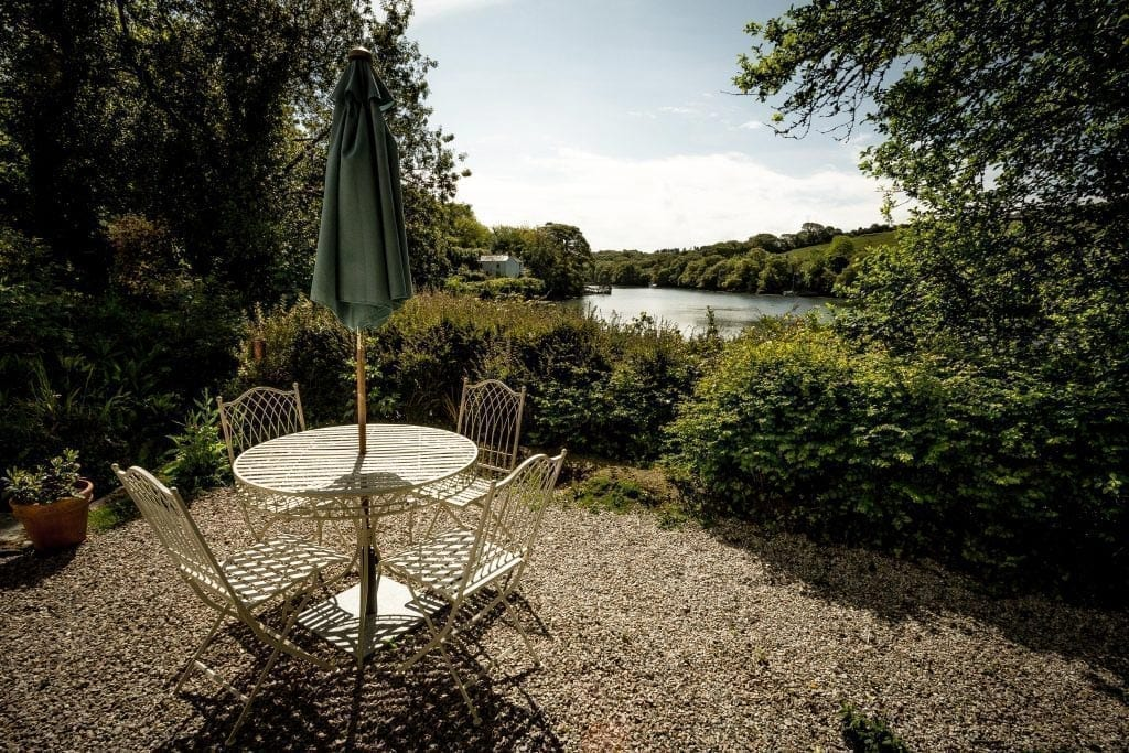 The View from Pencreek Cottage Wild Escapes Overlooking the River Fal