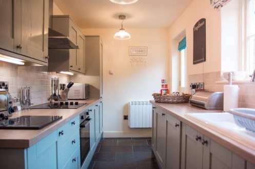 Turn-a-Penny Cottage Kitchen