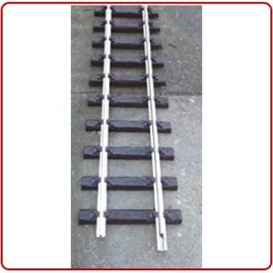 Thiel Flexibel rails 120 cm lang nikkel product afbeelding