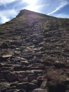 The path up to Corn Du