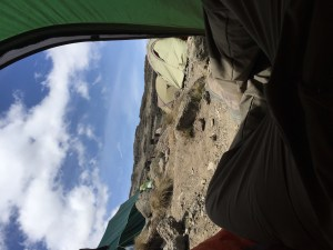 Karanga Valley - View from my tent