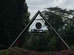 Mweka Gate - The end