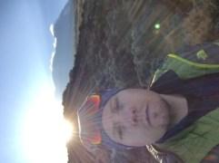 Sunrise, Kibo and me