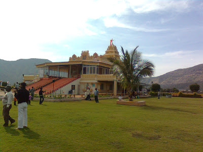 side view Panduranga Kshetra, Hadshi Temple, Pune