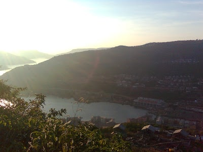 lavasa city evening view
