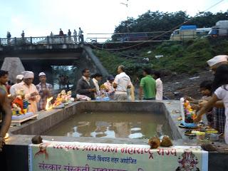 Eco-friendly Ganesh immersion