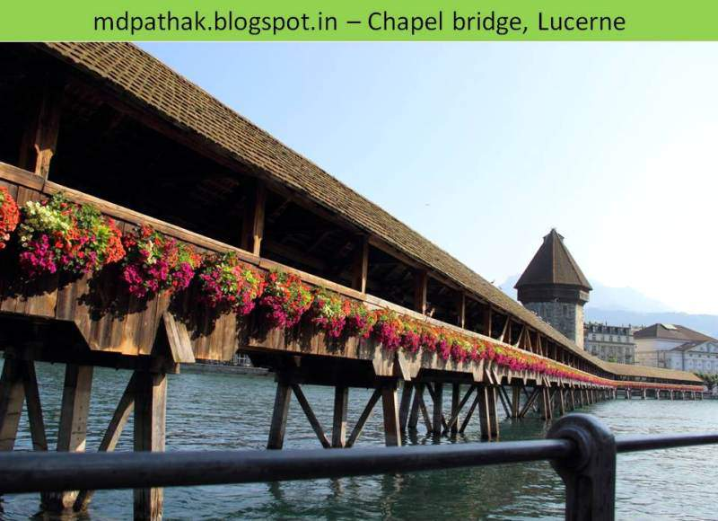Chapel bridge lucerne