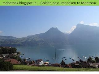 Switzerland 14 - Golden Pass - Interlaken to Montreux