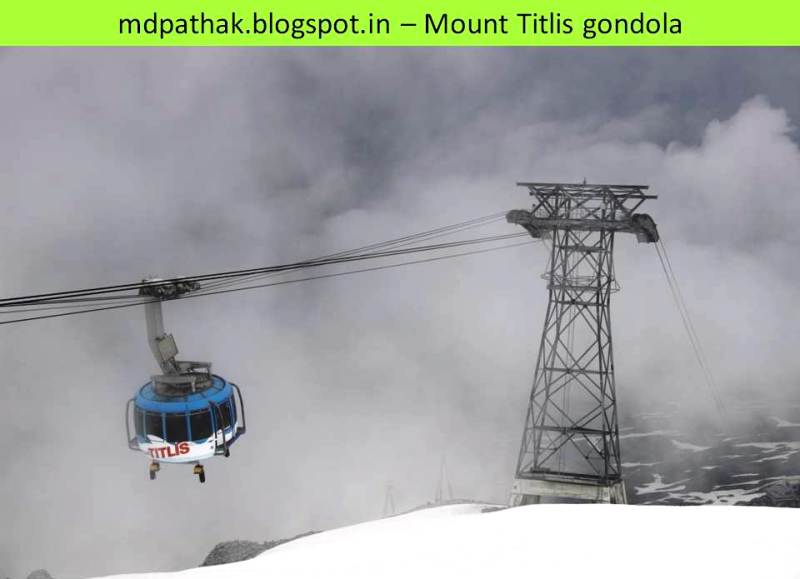 mount titlis gondola ride