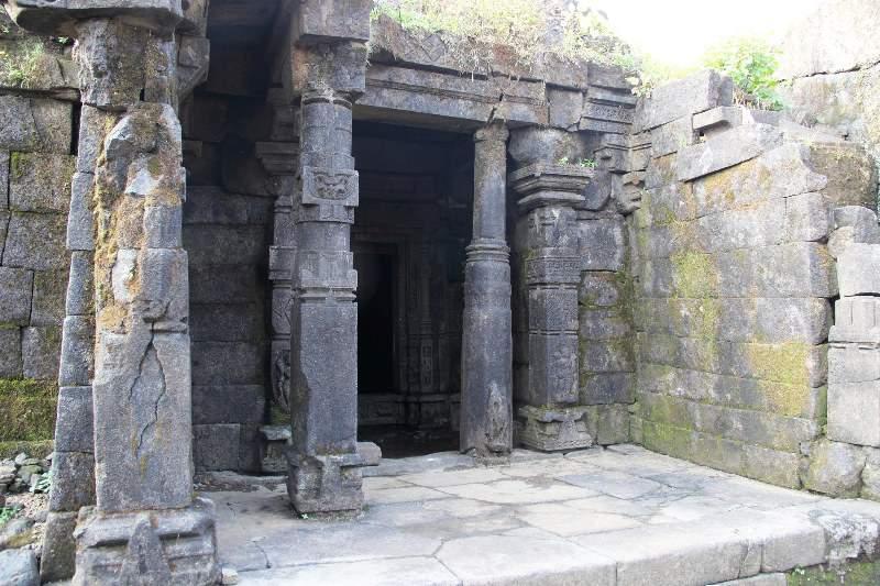 Ganesh temple remains harishchandragad