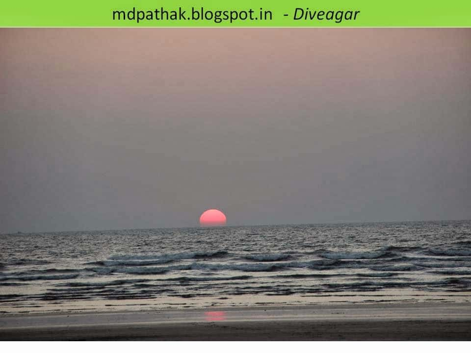 stunning sunset konkan sea beach