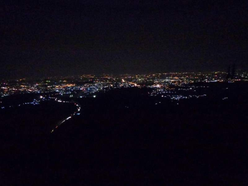 katraj to sinhagad night trek night view of pune