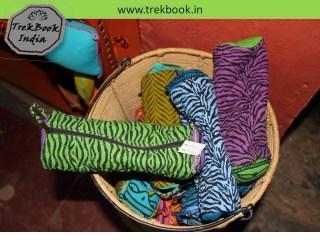 pouch  souvenir Ranthambore India