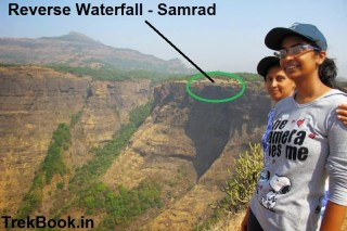 Reverse waterfall point, samrad india