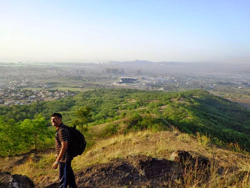 towards gahunje cricket stadium pune
