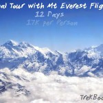INR 17K PP Nepal + Mt Everest Flight 12 days tour