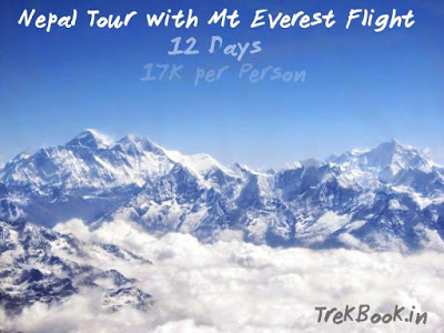 Nepal + Mt Everest Flight 12 days tour