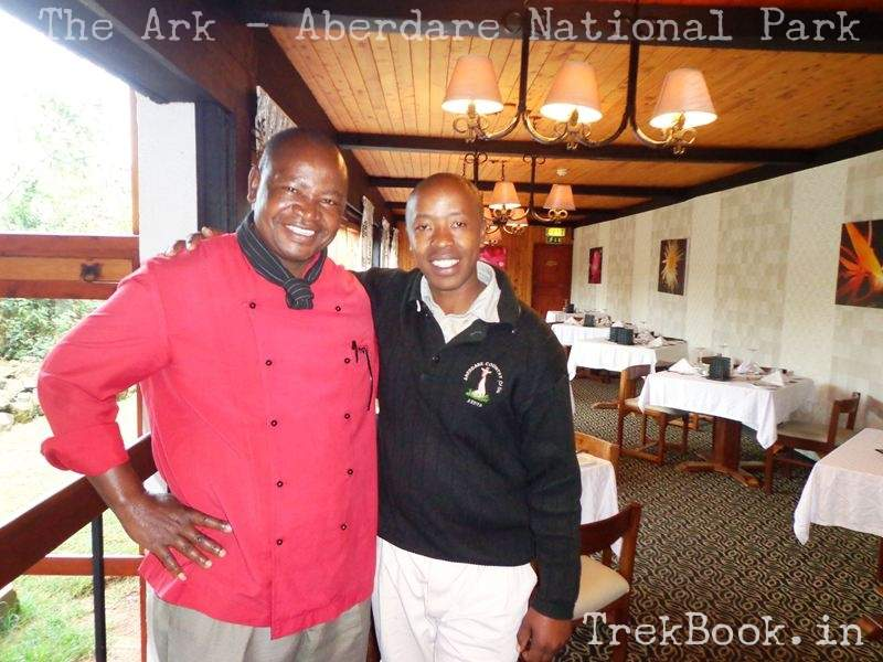 The Ark Chef Jackson & Guide Nahashon