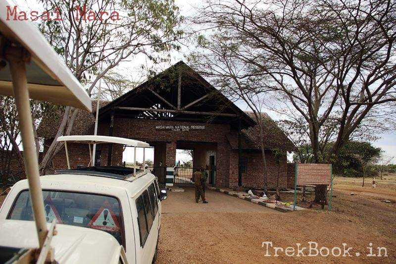 masai mara entry gate