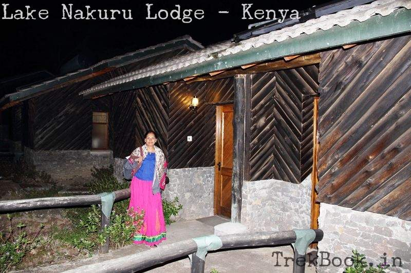 outside my room at lake nakuru lodge