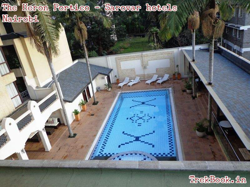 the heron portico - nairobi outdoor swimming pool