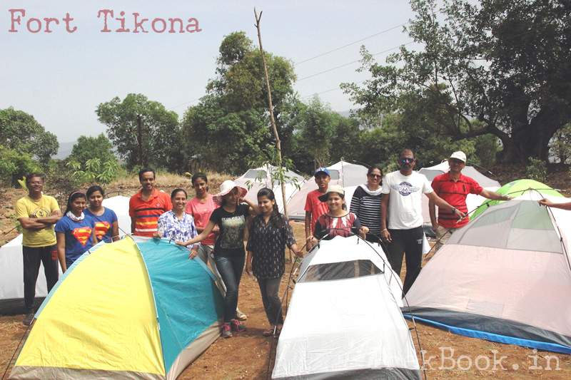 tent camping with FONA chinchwad