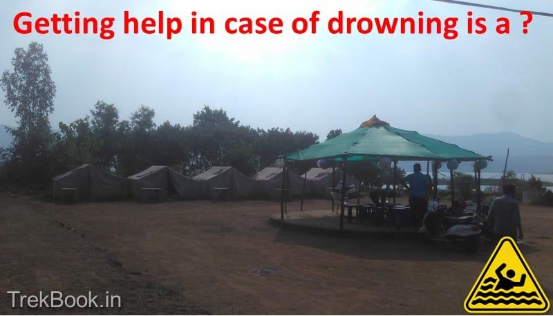 unsafe camp sites near pawana dam