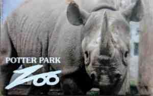 Zoo membership card