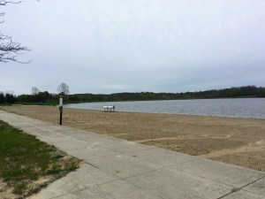 beach at Ionia State Recreation Area