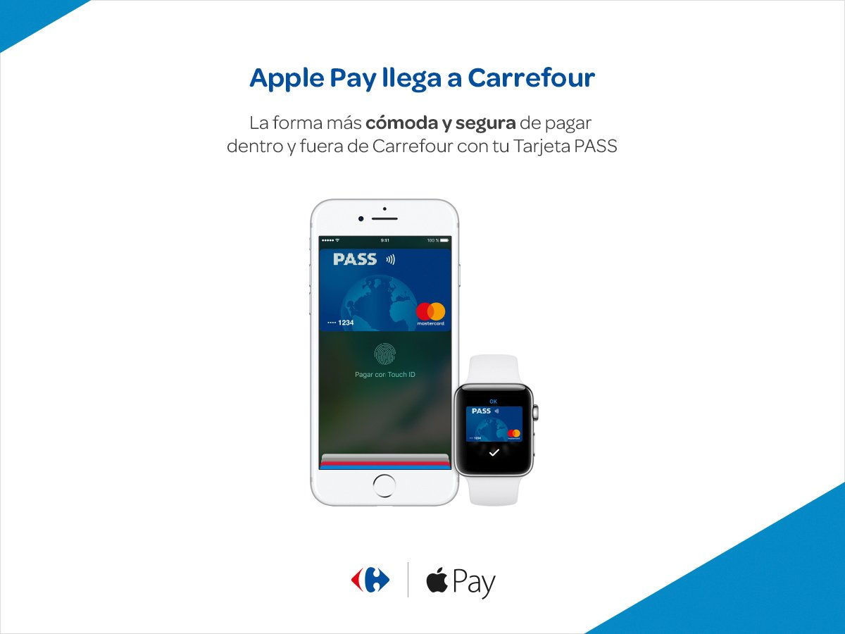 Carrefour Pass Apple Pay