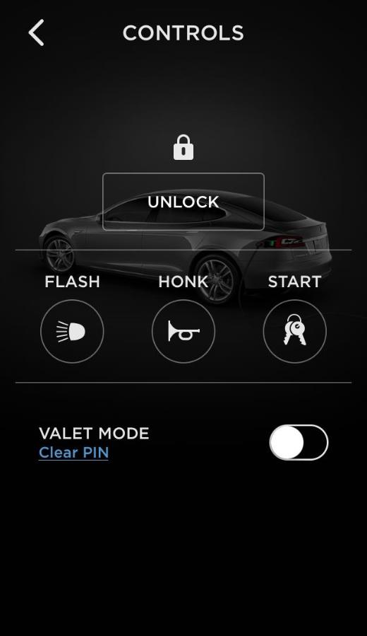 Controles de Tesla