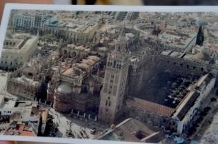 Postcard of the today's Santa Maria
