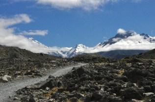 Path to Tasman Lake