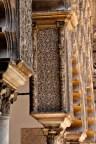 Fabulous decoration on arch column