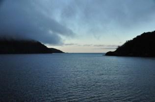 The Tasman Sea ahead - and clear skies!