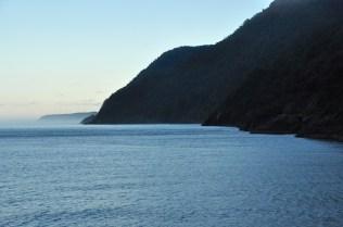 The Tasman Sea, and headlands