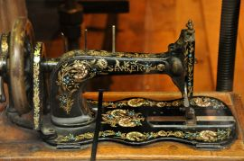 One of the sewing machines